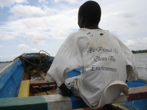 Gambia boat