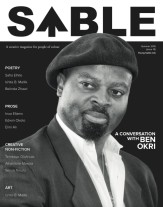 Cover Version 4 - ben okri with angela's pic